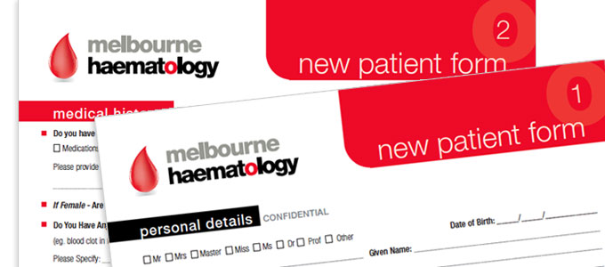 Melbourne Haematology - New Patient Form