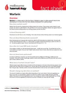 Warfarin - Fact Sheet